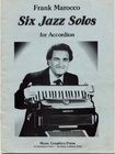 Six Jazz Solos for Accordion